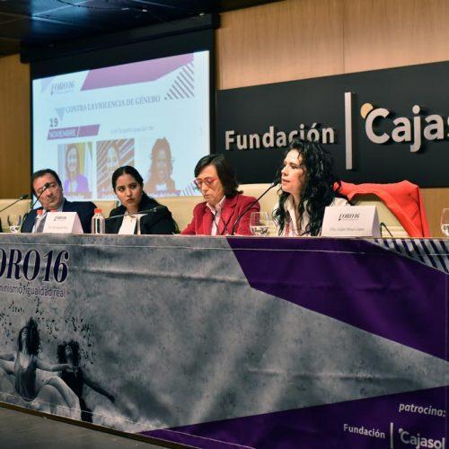 Cristina del Valle durante su intervención 02