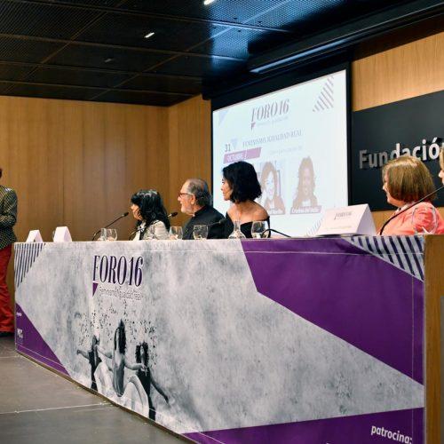 Mesa de ponente, intervención de Soledad Murillo