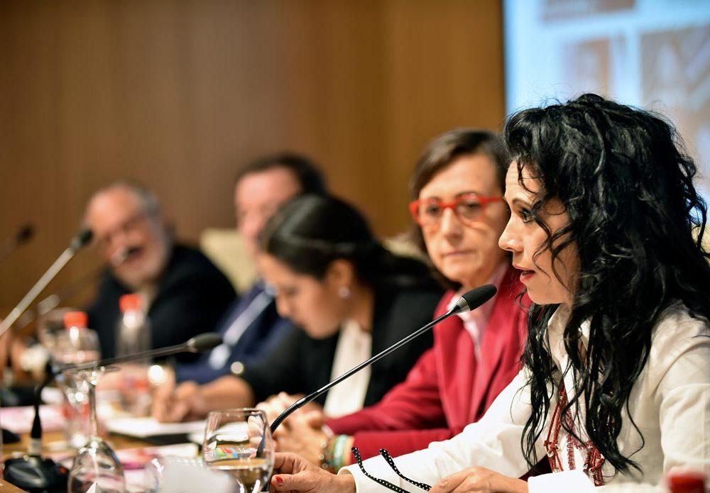 Cristina del Valle durante su intervención 01